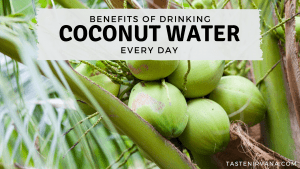 Blog Cover - Benefits of drinking coconut water every day