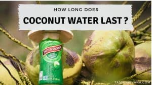 Blog Cover - how long does coconut water last