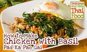Image of Pad Ka Pao Gai