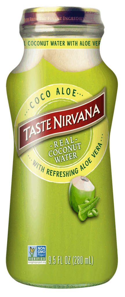 Real Coco Aloe 9.5 fl oz bottle