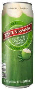 Front Image of Real Coconut Water 16 fl oz can