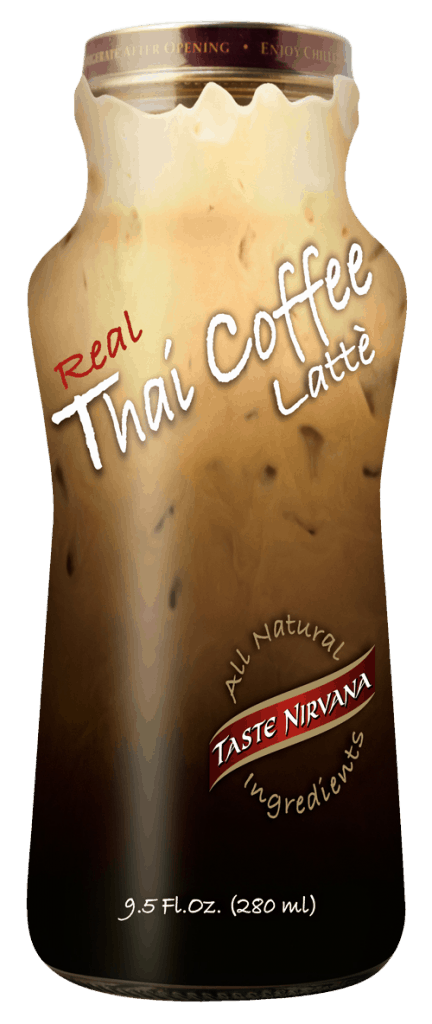 Front Bottle of Real Thai Coffee Latte