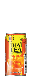 Front Face of Thai Tea Mini Can