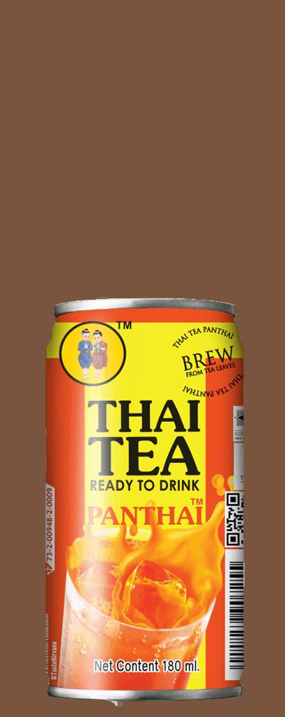 Front Face of Thai Tea Mini Can
