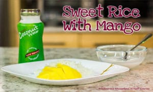 Image of Sweet Rice with Mango