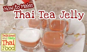 Image of Thai Tea Jelly