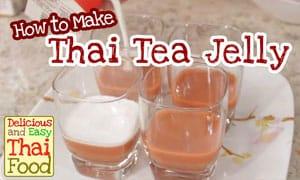 Image of Thai Tea Jelly