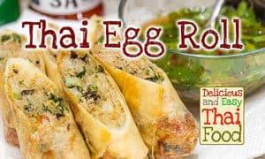Image of Thai Egg Roll