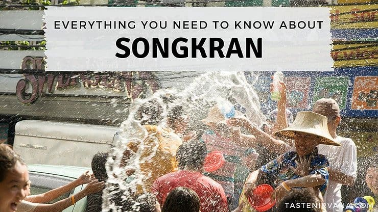 Blog Cover - Everything you need to know about Songkran