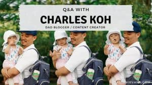 Blog Cover - Q& A with Charles Koh, Dad Blogger and Influencer