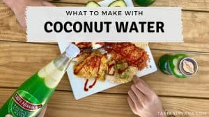 Blog Cover - What to Make With Coconut Water