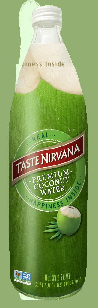 Front Image of Real Coconut Water Huge 33 fl oz Bottle