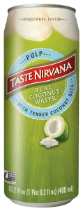 Front Face of Coconut Water with Pulp Can
