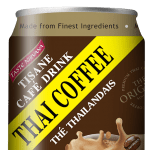 Front Face of Thai Coffee Authentic Recipe Can