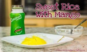 Image of Sweet Rice with Mango