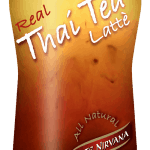 Bottle of real Thai Tea Latte