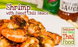 Shrimp with Sweet Chili Sauce