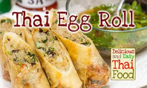 Image of Thai Egg Roll